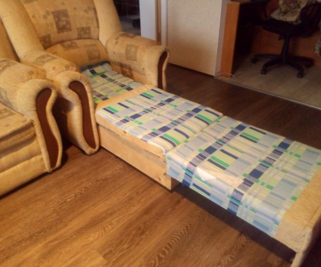 Диван + два кресла. Фото 3. Электросталь.