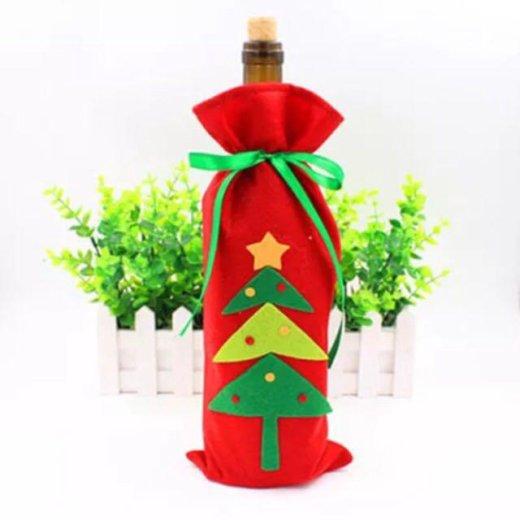 Чехол на бутылку /украшение / праздничная упаковка. Фото 1. Красноярск.