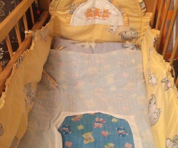 Бортики на кроватку. Фото 1. Краснодар.