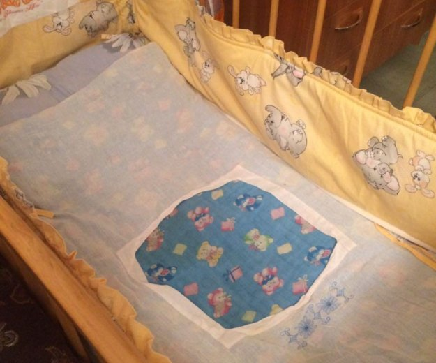Бортики на кроватку. Фото 2. Краснодар.