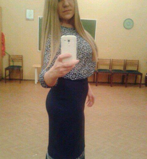 Синяя юбка. Фото 1. Химки.