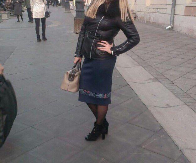 Синяя юбка. Фото 2. Химки.
