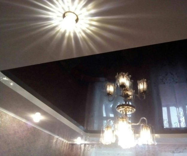 Натяжные потолки, услуги электрика. Фото 1. Барнаул.