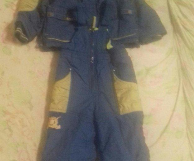 Межсезонняя куртка и штаны на лямках. Фото 1. Киров.