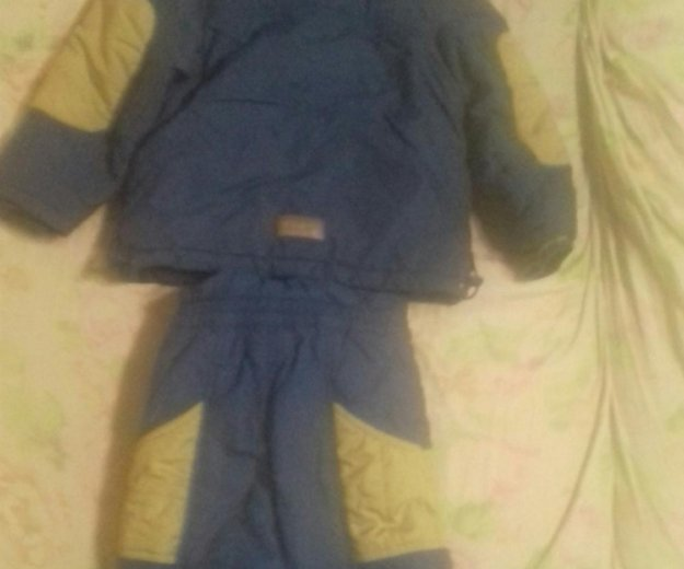 Межсезонняя куртка и штаны на лямках. Фото 2. Киров.