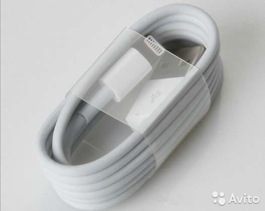Зарядный кабель для айфон любых моделей. Фото 1. Краснодар.