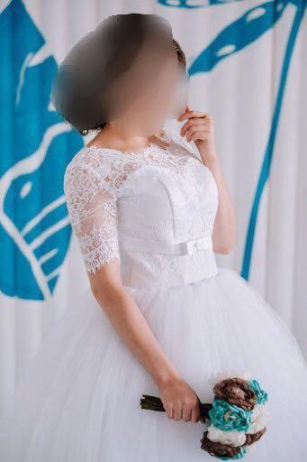 Свадебное платье. Фото 1. Осинники.