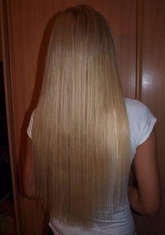 Наращивание волос. Фото 3. Красноярск.