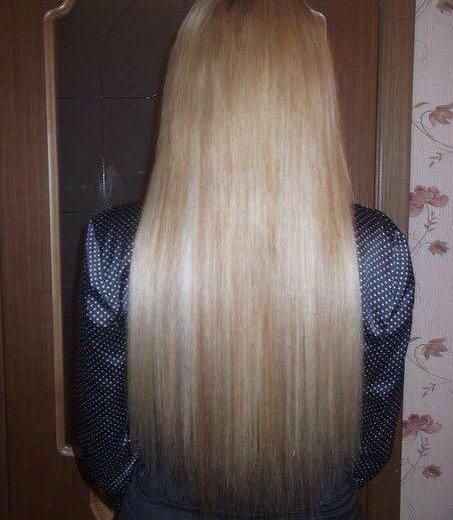 Наращивание волос. Фото 2. Красноярск.