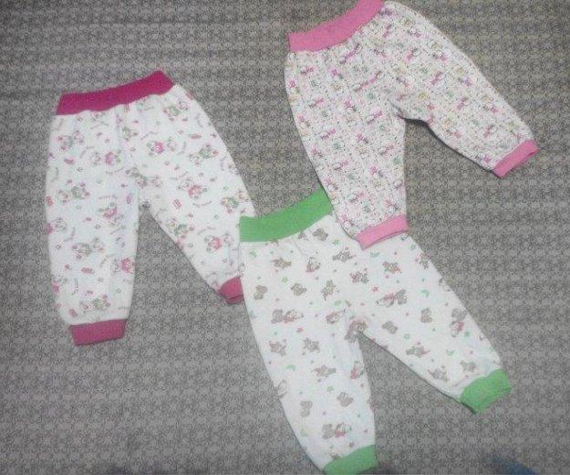 Продам штанишки тёплые на девочку 68-74. Фото 1. Черногорск.