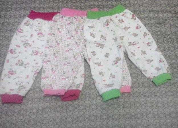 Продам штанишки тёплые на девочку 68-74. Фото 2. Черногорск.