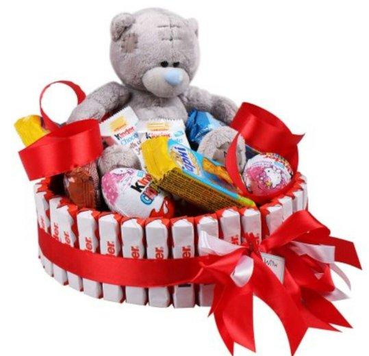 Букет из игрушек и конфет. Фото 3. Ростов-на-Дону.