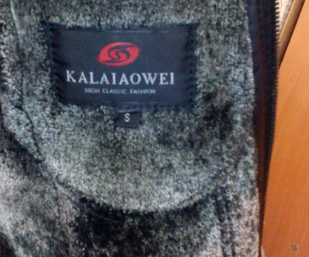 Продам кожаную куртку на натуральной цегейке. Фото 2. Воскресенск.