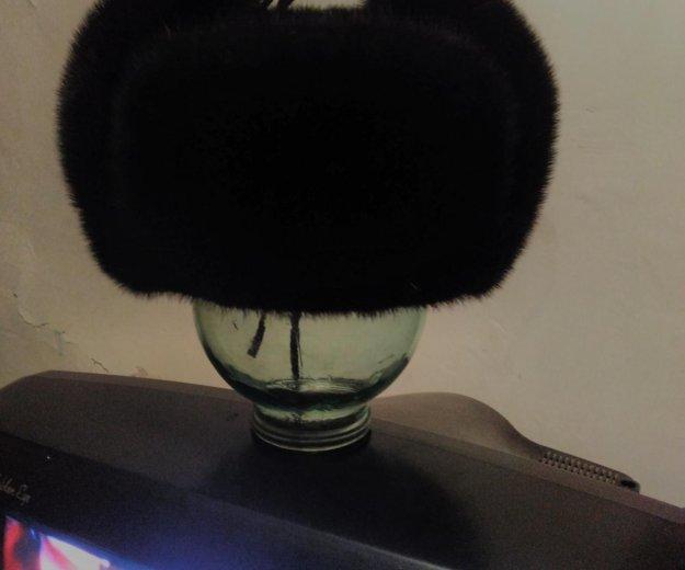 Ушанка норковая,российского производства,новая. Фото 1. Биробиджан.