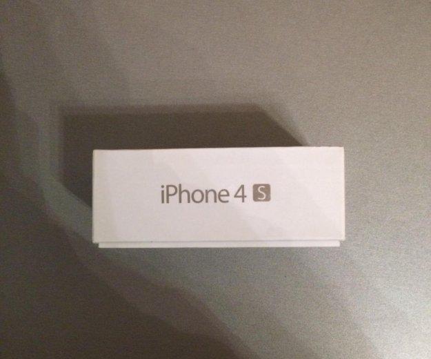 Iphone 4s 16 gb + 5 чехлов. Фото 3. Красноярск.