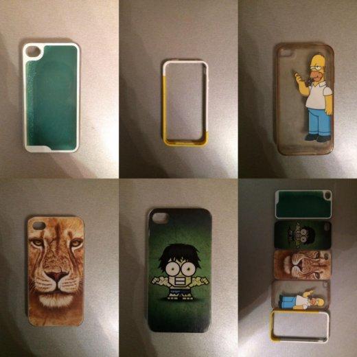 Iphone 4s 16 gb + 5 чехлов. Фото 4. Красноярск.