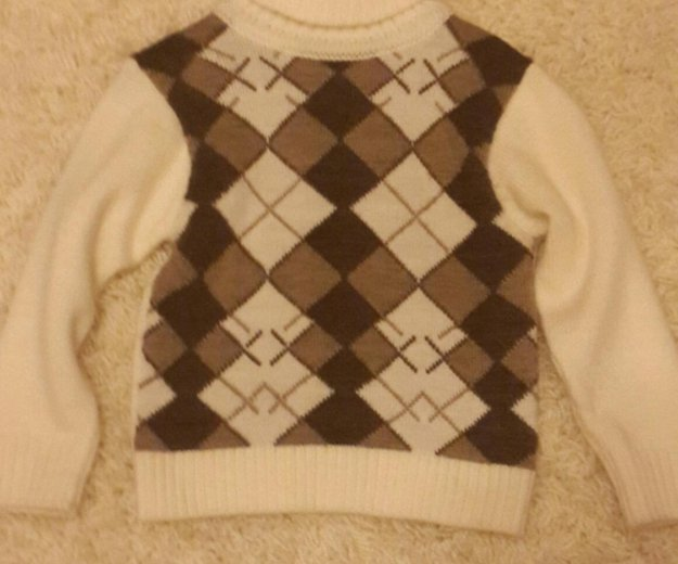 Тёплый свитер на мальчика. Фото 1. Мытищи.