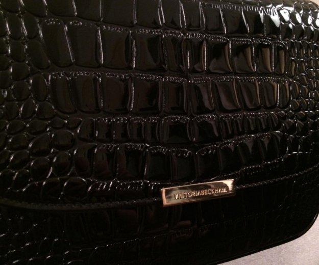 Чёрная лаковая сумка. Фото 2. Ангарск.