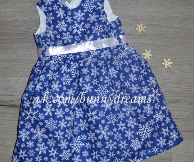 Платье синее новогоднее. Фото 1. Москва.