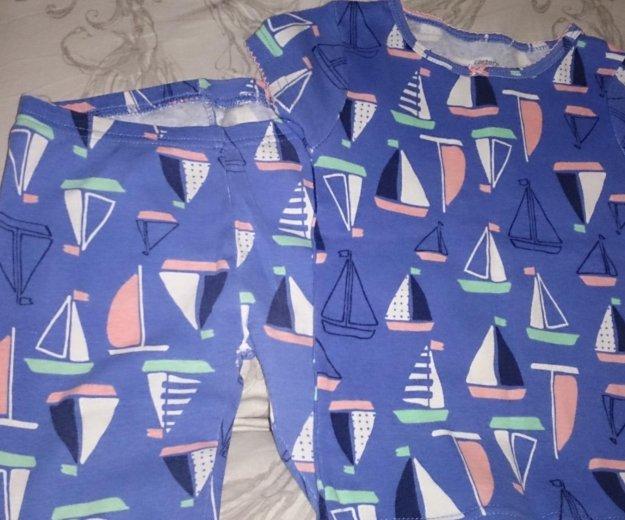 92-104 3-4г пижама для девочки carters сша. Фото 2. Москва.