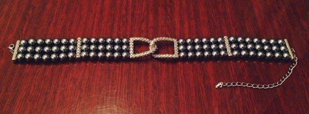 Ожерелье, браслет и кольцо. Фото 4. Пермь.