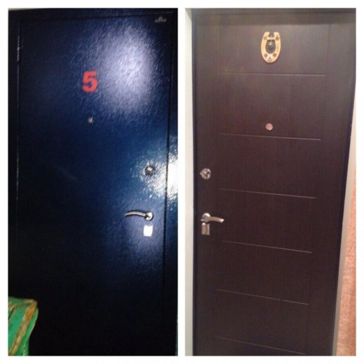 Входная металлическая дверь. Фото 1. Сургут.