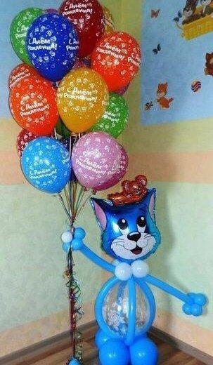 Кот том с шариками. Фото 1. Владимир.