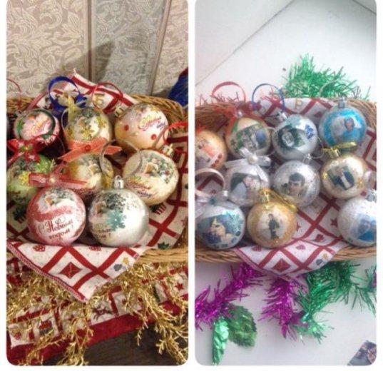 Ёлочные шары с фото. Фото 1. Новый Уренгой.