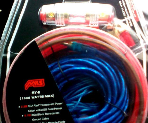 Новый комплект проводов для сабвуфера. Фото 1. Барнаул.