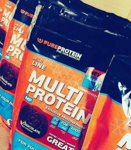 Протеин multiprotein pureprotein 1кг. Фото 1. Владивосток.