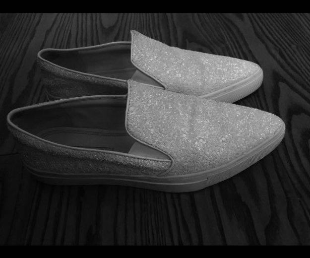 Ботинки балетки zara новые. Фото 4. Москва.