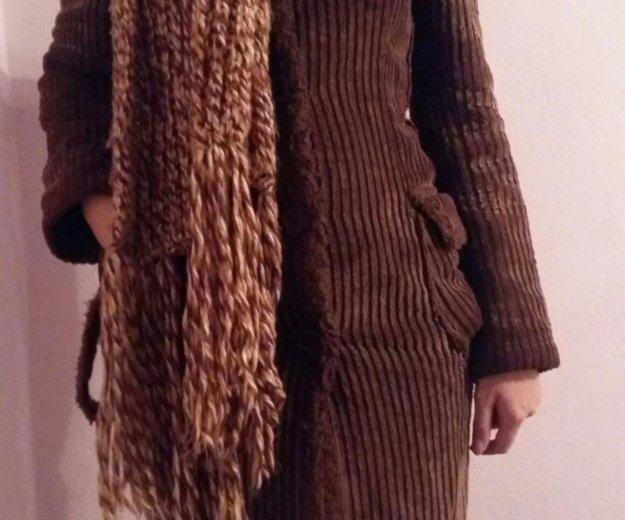 Пальто с шарфом. Фото 2. Волгоград.