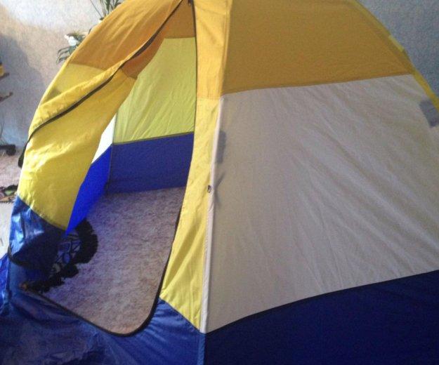 Палатка зимняя. Фото 1. Иркутск.
