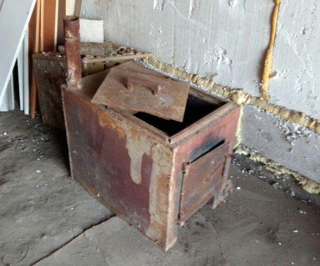 Печь с электротэном. Фото 1. Барнаул.