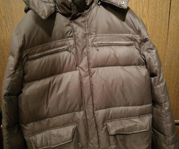 Куртка пуховик tom farr мужской, размер 48-50. Фото 2. Москва.