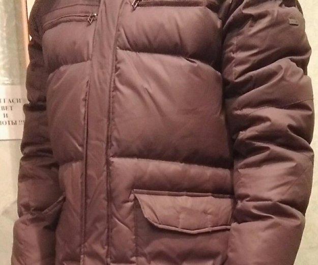 Куртка пуховик tom farr мужской, размер 48-50. Фото 3. Москва.