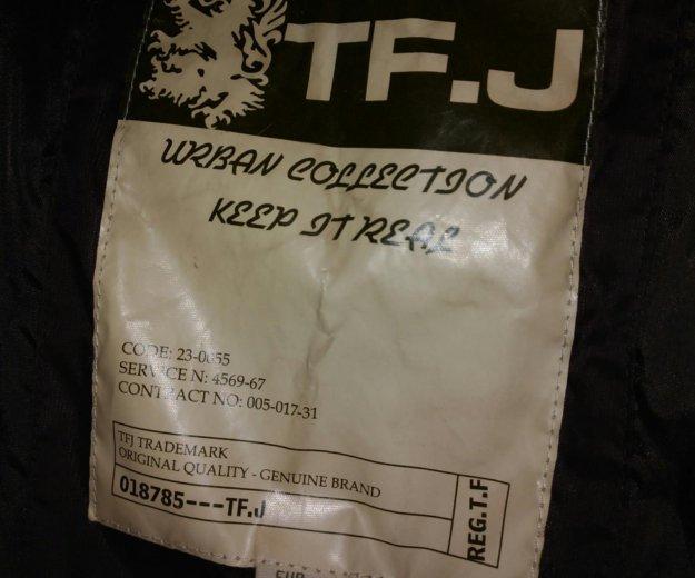 Куртка пуховик tom farr мужской, размер 48-50. Фото 4. Москва.