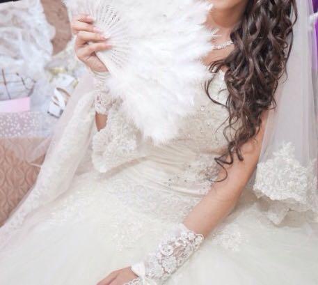 Свадебное платье. Фото 1. Астрахань.