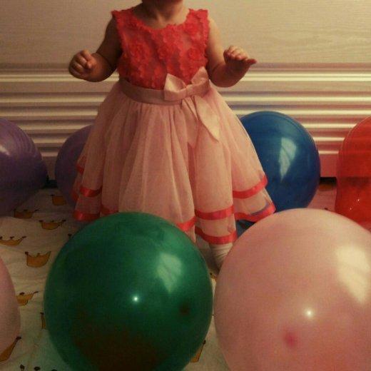 Платье праздничное, на годик. Фото 1. Санкт-Петербург.