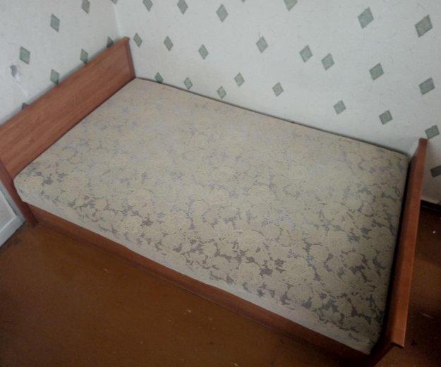 Кровать 1.5 спальная. Фото 2. Хабаровск.
