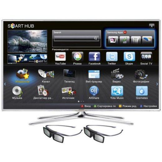 Samsung smart tv 3d 400гц. Фото 1. Абакан.