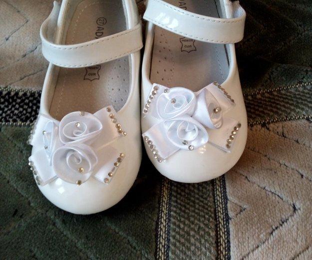 Туфельки для девочки. Фото 3. Омск.