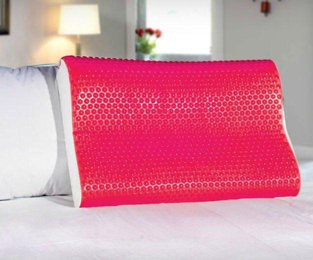 Анатомическая подушка аскона ecogel contour pink. Фото 1. Уфа.