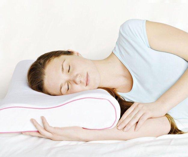 Анатомическая подушка аскона ecogel contour pink. Фото 2. Уфа.