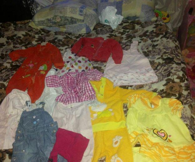 Вещи на девочку 6- 9 месяцев. Фото 1. Москва.