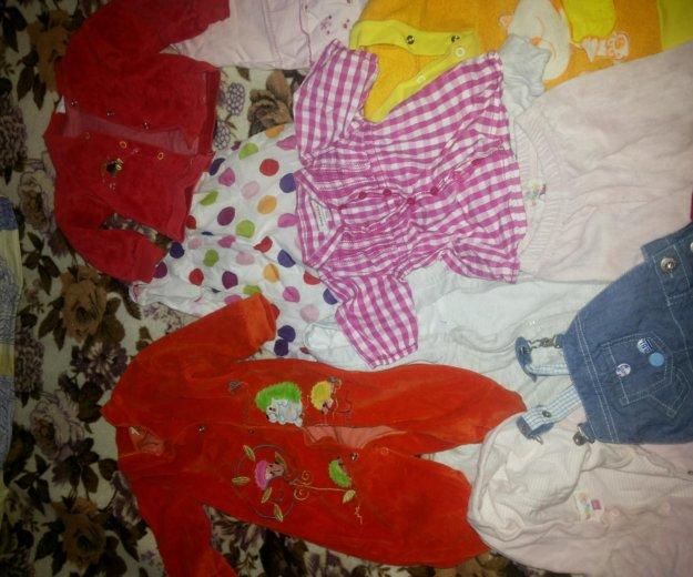 Вещи на девочку 6- 9 месяцев. Фото 2. Москва.