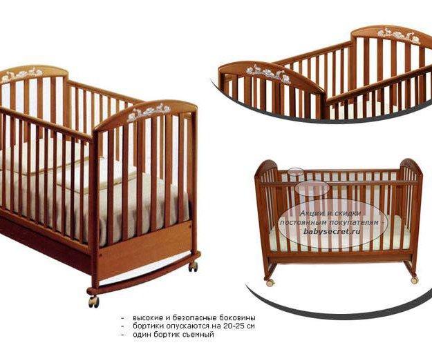 Детская кроватка pali zoo. Фото 1. Химки.
