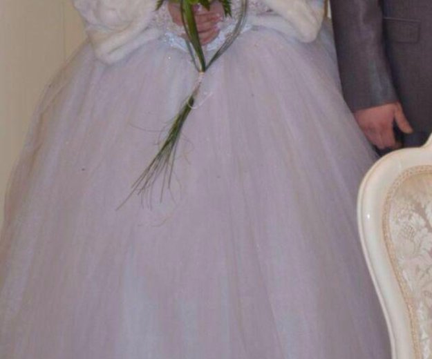 Продам б.у. свадебное платье. Фото 2. Обнинск.