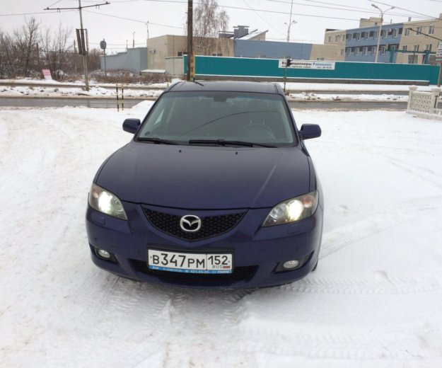 Mazda 3 1.6 at. Фото 1. Дзержинск.