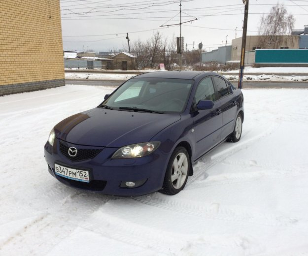 Mazda 3 1.6 at. Фото 2. Дзержинск.